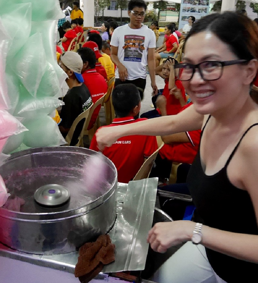michell sison charity 1