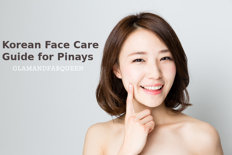korean face care guide for pinays